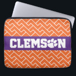 "Clemson Tigers Laptop Sleeve<br><div class=""desc"">Check out these new Clemson University designs and products! At Zazzle, you can get all of the best Clemson gear to show off your Tiger Pride. All of these products are customizable with your name, class year, or club. They make perfect gifts for the Clemson student, alumni, family, friend, or...</div>"