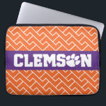 """Clemson Tigers Laptop Sleeve<br><div class=""""desc"""">Check out these new Clemson University designs and products! At Zazzle, you can get all of the best Clemson gear to show off your Tiger Pride. All of these products are customizable with your name, class year, or club. They make perfect gifts for the Clemson student, alumni, family, friend, or...</div>"""