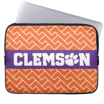 Clemson Tigers Laptop Sleeve