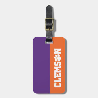 Clemson Tigers Luggage Tag