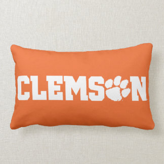 Clemson Tigers Lumbar Pillow