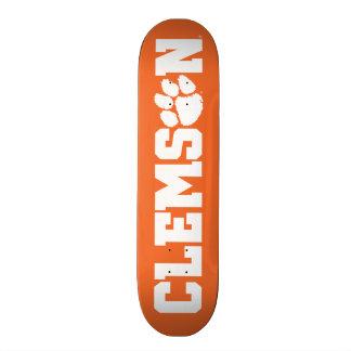 Clemson Tigers Skateboard