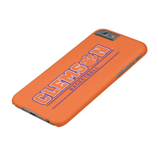 Clemson University   Basketball Barely There iPhone 6 Case
