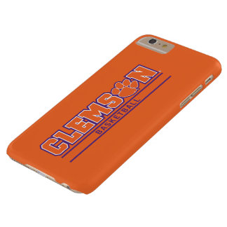 Clemson University   Basketball Barely There iPhone 6 Plus Case