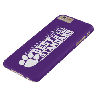 Clemson University   Best Is The Standard Barely There iPhone 6 Plus Case