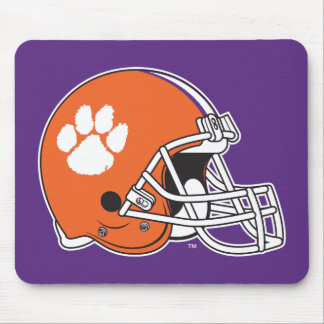 Clemson University Football Helmet Mouse Pad