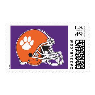 Clemson University Football Helmet Postage