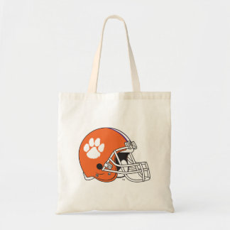 Clemson University Football Helmet Tote Bag