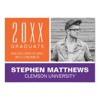 Clemson University Graduation Announcement