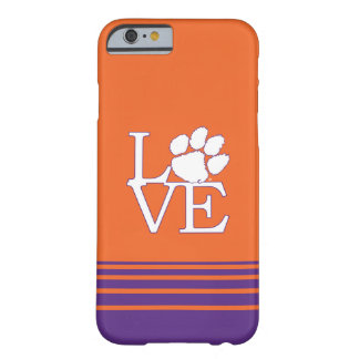 Clemson University Love Barely There iPhone 6 Case