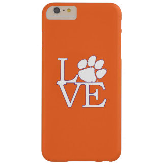 Clemson University Love Barely There iPhone 6 Plus Case