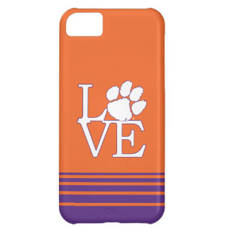 Clemson University Love Cover For iPhone 5C