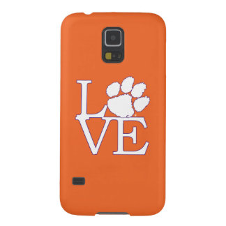 Clemson University Love Galaxy S5 Cover