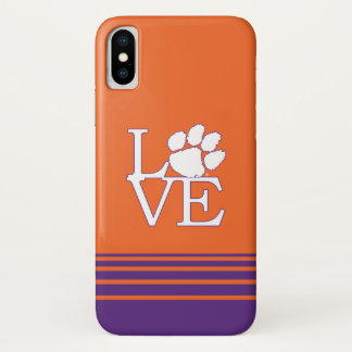 Clemson University Love iPhone X Case