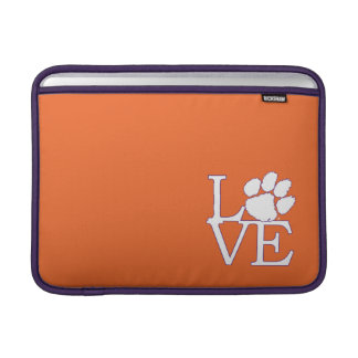 Clemson University Love MacBook Sleeve