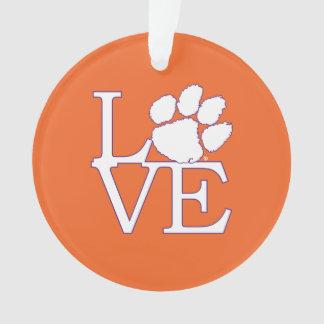 Clemson University Love Ornament