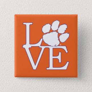 Clemson University Love Pinback Button