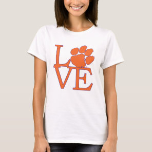 Clemson University Love T-Shirt