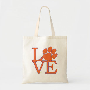 133cd4cc78 Clemson University Love Tote Bag