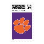 Clemson University Tiger Paw 3 Postage