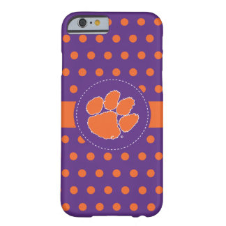 Clemson University Tiger Paw Barely There iPhone 6 Case