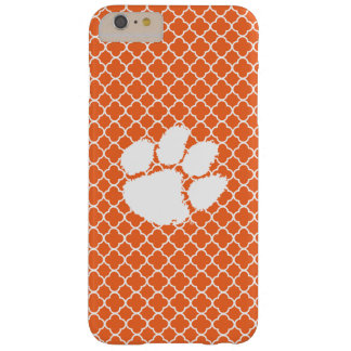 Clemson University Tiger Paw Barely There iPhone 6 Plus Case