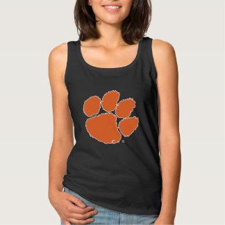 Clemson University Tiger Paw Basic Tank Top