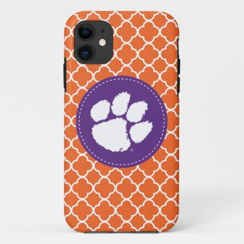 Clemson University Tiger Paw Phone Case