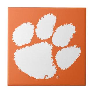 Clemson University Tiger Paw Ceramic Tile