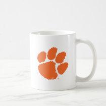 Clemson University Tiger Paw Coffee Mug