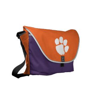 Clemson University Tiger Paw Courier Bag