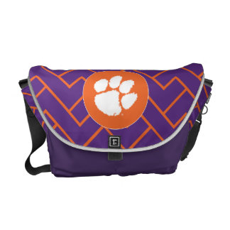 Clemson University Tiger Paw Courier Bag