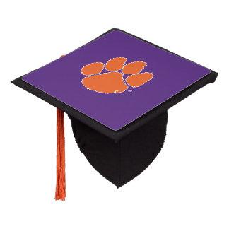 Clemson University Tiger Paw Graduation Cap Topper