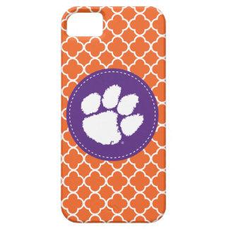 Clemson University Tiger Paw iPhone SE/5/5s Case
