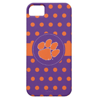Clemson University Tiger Paw iPhone SE/5/5s Case
