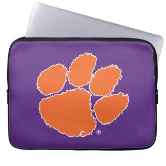Clemson University Tiger Paw Laptop Sleeve