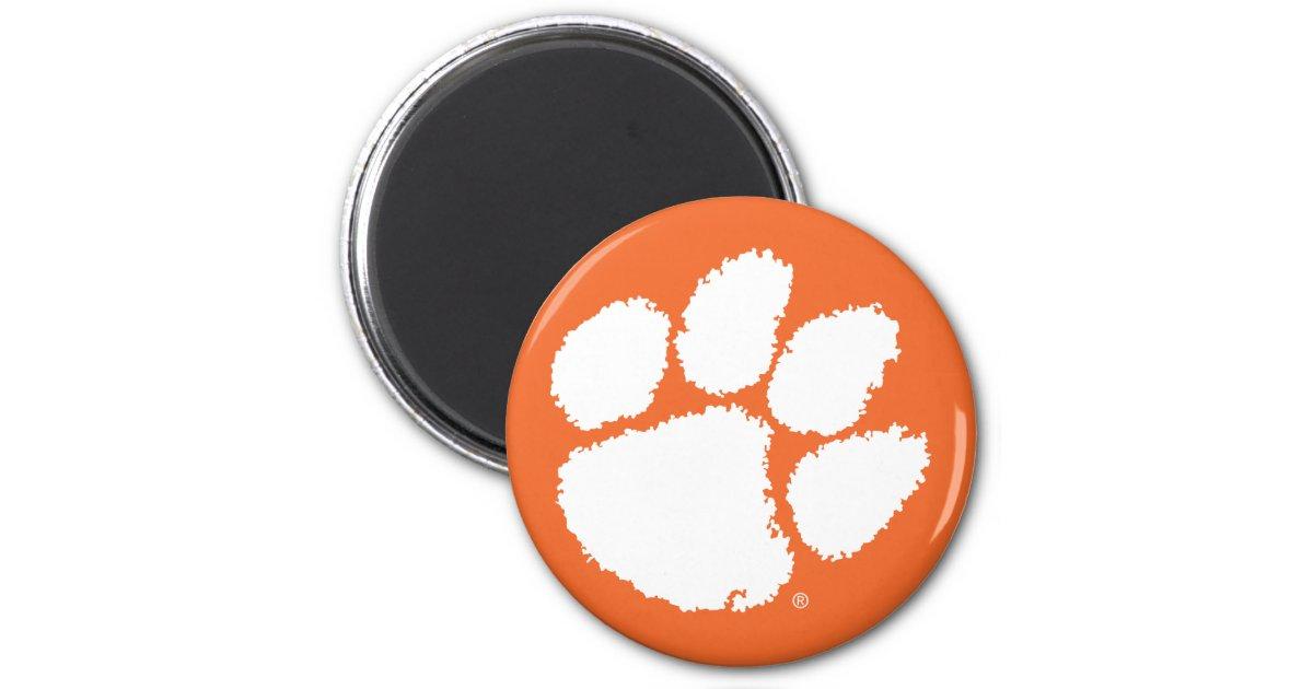 Magnet   Clemson Zazzle.com Paw Tiger University