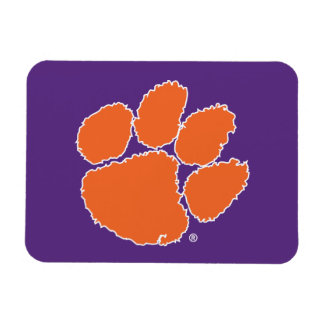 Clemson University Tiger Paw Magnet