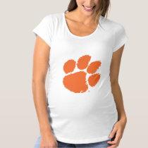 Clemson University Tiger Paw Maternity T-Shirt