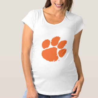 Clemson University Tiger Paw Maternity T-Shirt