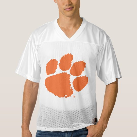 Clemson University Tiger Paw Men S Football Jersey