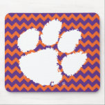 "Clemson University Tiger Paw Mouse Pad<br><div class=""desc"">Check out these new Clemson University designs and products! At Zazzle, you can get all of the best Clemson gear to show off your Tiger Pride. All of these products are customizable with your name, class year, or club. They make perfect gifts for the Clemson student, alumni, family, friend, or...</div>"