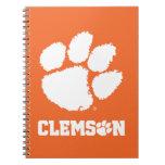 Clemson University Tiger Paw Notebook