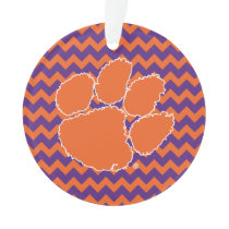 Clemson University Tiger Paw Ornament