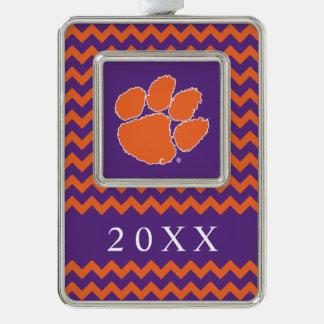 Clemson University Tiger Paw Ornament