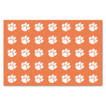 Clemson University Tiger Paw Tissue Paper