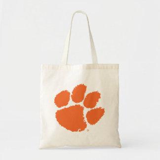 Clemson University Tiger Paw Tote Bag