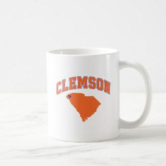 Clemson With South Carolina Coffee Mug