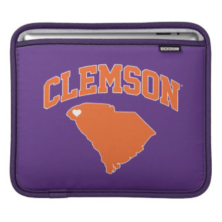 Clemson With South Carolina iPad Sleeve