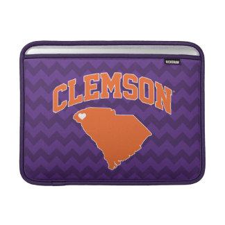 Clemson With South Carolina MacBook Sleeve